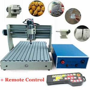 4 Axis Usn Cnc 3040 Router Engraving Milling Metalworking Machine controlle 400w