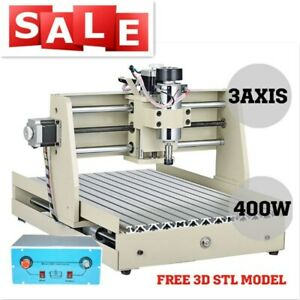 3axis 400w Cnc 3040 Router Engraver Pcb Wood Engraving Drilling Milling Machine