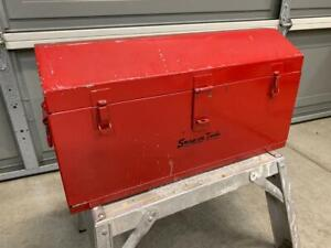Vintage Snap on Kra 21 Heavy Duty Two Drawer Metal Tool Box