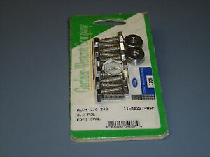 Ford 289 302 Valve Cover Bolts Ford Logo