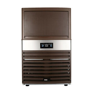 Built in Commercial Ice Maker Restaurant Ice Cube Machine 130lbs 24h Self clean
