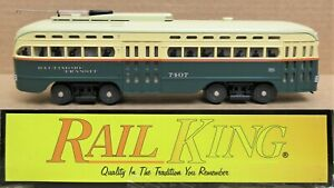 Mth Railking 30 2525 1 Baltimore Electric Street Car Trolley W ps2 O gauge Ln