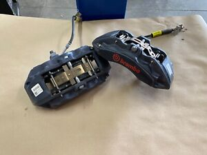 2015 2020 Ford Mustang Gt Front 6 Piston Brembo Brake Calipers Oem