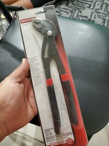 Craftsman New 10 Adjustable Arc Joint Pliers Set Made In Germany Knipex 45430