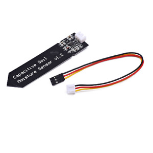 Analog Capacitive Soil Moisture Sensor V1 2 Corrosion Resistant With Cable Wire