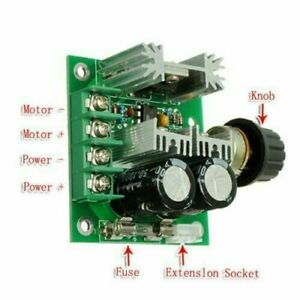 12v 40v 10a Pulse Width Modulation Pwm Dc Motor Speed Control Switch Controller
