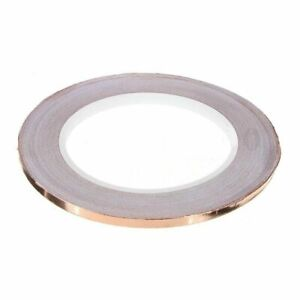New 5mm X 30m 1 Roll Single Conductive Copper Foil Tape Adhesive Electronic Tool