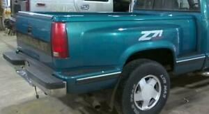 88 98 Chevrolet C k Pickup Sportside Stepside Box Bed Teal Has Been Repaired