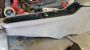 1996 Chevy Impala Center Console Grey With Arm Rest Shift Plate