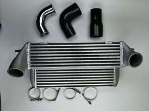 7 5 Stepped Aluminum Intercooler Kit For Twin Turbo Bmw 335i 335xi is 135i