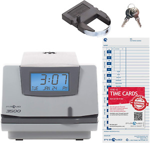 Model 3500 Multi purpose Time Clock And Document System Manual Alignment