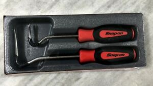 New Snap on Red 2 Piece Snap on Tools Non Marring Trim Pad Tool Set Asgp102br