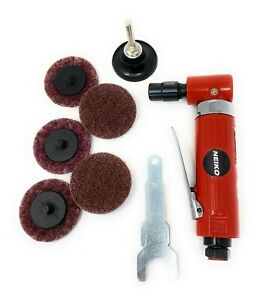 Heavy Duty 14 Inch Angle Air Die Grinder 7 Pc Combo Kit