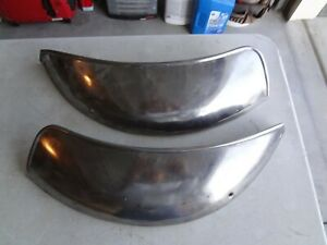 1949 1950 Chevy Coupe Gravel Rock Guards Left And Right