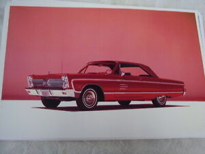 1966 Plymouth Sport Fury 11 X 17 Photo Picture