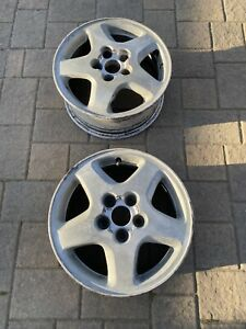 1995 Nissan 240sx S14 Alloy Rims Set Of 4x Silver Grey Oem Ka Pick Up Only