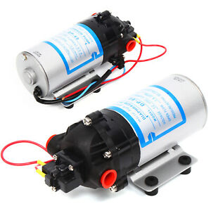 Micro Diaphragm Water Pump High Pressure Self Priming Pump For Vehicle Washing
