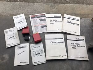 Snap On Mt2500 Scanner Accessory Cartridge And Manual Lot