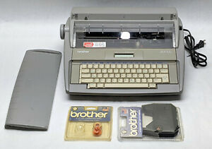 Brother Sx 4000 Daisywheel Electronic Dictionary Typewriter Tested Extras