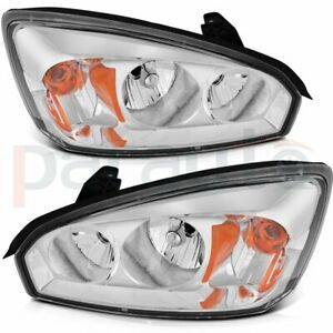 Pair For 2004 2008 Chevy Malibu Headlights Assembly Left right Headlamps Replace