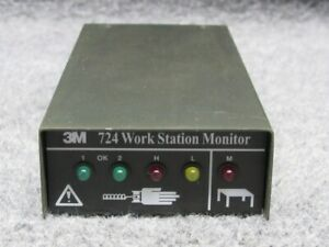 3m 724 Work Station Monitor Inspection Equipment Workstation Static Control