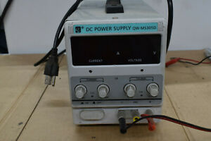 Dc Power Supply Used 3 1 l