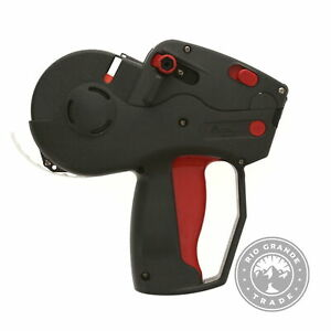 Used Monarch M0113101 Pricemarker Label Gun In Black Holds Up To 2500 Labels