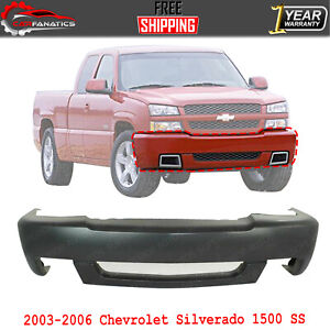 Front Bumper Cover Primed With Fog Holes For 2003 06 Chevrolet Silverado 1500 Ss