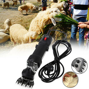 320w Shears Goat Sheep Clippers Animal Shave Grooming Farm Livestock Supplies Us