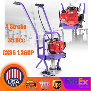 Gas Concrete Wet Screed 1 36hp 35 8cc 4 stroke Air cooled Gas Vibrating Concret