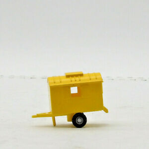 Smart Toys Truck Trailer Yellow Circus Construction Ho Scale