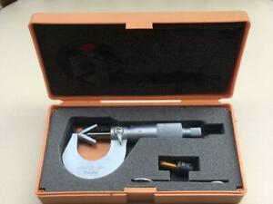 Rare Items Mitumoyo V groove Micrometer 15mm Confirmed To Work