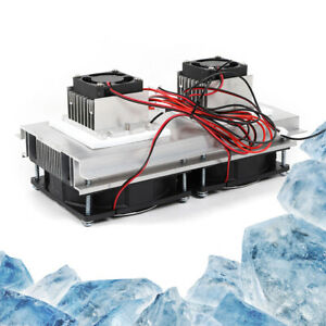 Thermoelectric Peltier Refrigeration Semiconductor Cooler Fan Cooling System Usa