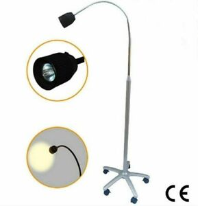 35w Led Surgical Medical Exam Lamp Shadowless Halogen Light Floor Stand Jd1500