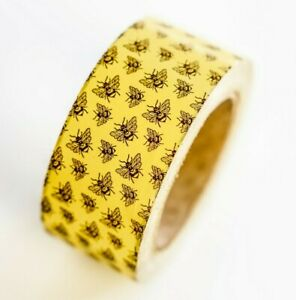 2 Colorful Bee Tape 110 Yards 330 Ft Cute Shipping Tape Honeybee Packaging