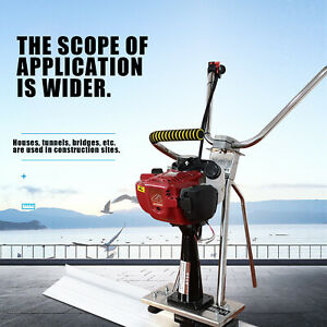 All Stainless Steel 35 8cc Concrete Cement Vibrating Power Screed 4 Stroke Usa
