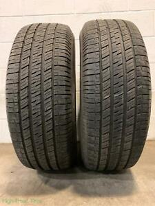2x P245 65r17 Uniroyal Laredo Cross Country Tour 9 32 Used Tires