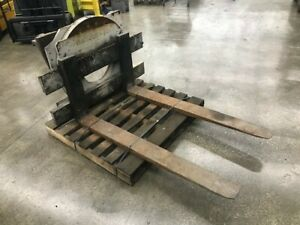 Cascade Forklift Attachment Rotator Class Iv Mounting Free Freight