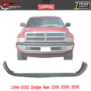 Front Lower Bumper Cover For 1994 2001 Dodge Ram 1500 1994 2002 Ram 2500 3500