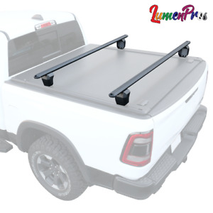 Fit F 150 Adjustable Truck Bed Rack Carrier Towers Heavy Duty Aluminum Crossbar