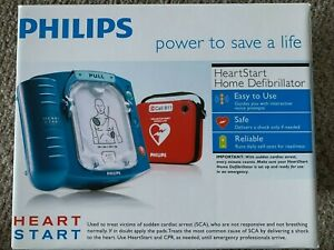 New Philips Heartstart Home Aed Defibrillator M5068a Pads 08 23 Battery 01 27