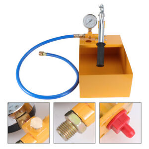 Pro Hand Water Test Pump Pipe Leakage Pressure Tester Hydraulic Steel Quality 5l