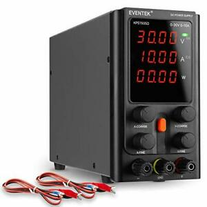Dc Power Supply Variable Adjustable Switching Dc Regulated Bench 30v 10a