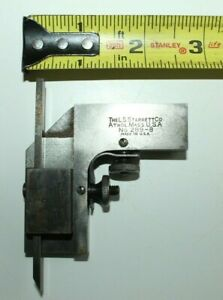 I Vintage Starrett Tool 289 a And 289 c For Combination Square Set Machinist
