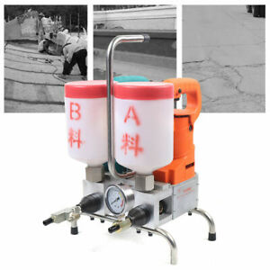 Grouting Steel Machine Electric Epoxy Injection High Pressure Leak Stoppage Usa