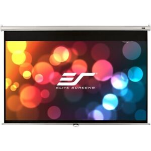 New Elitescreens M80nwv Manual Projection Screen 80in Pull Down