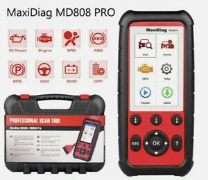 Autel Maxidiag Md808 Pro Scan Tool Diagnostics Special Functions In One Hand