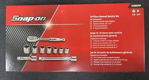 Snap On Tools 210afsp 3 8 6 Pts Sae General Service 10pc Set New Usa