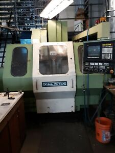 Okuma Mc 4vae Vertical Milling Machine With Forth Axis