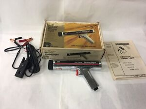 Vintage Sears Craftsman Inductive Timing Light 161 213400 With Box Manual